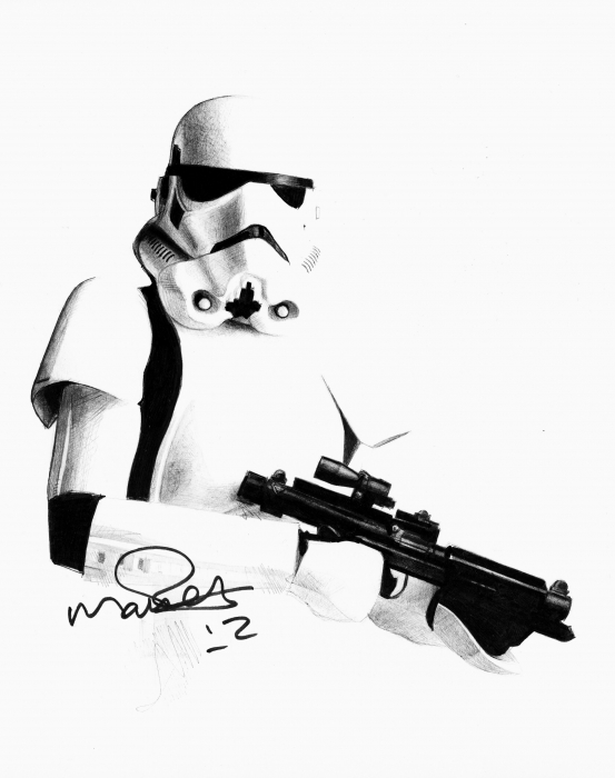 Stormtrooper by Petrol